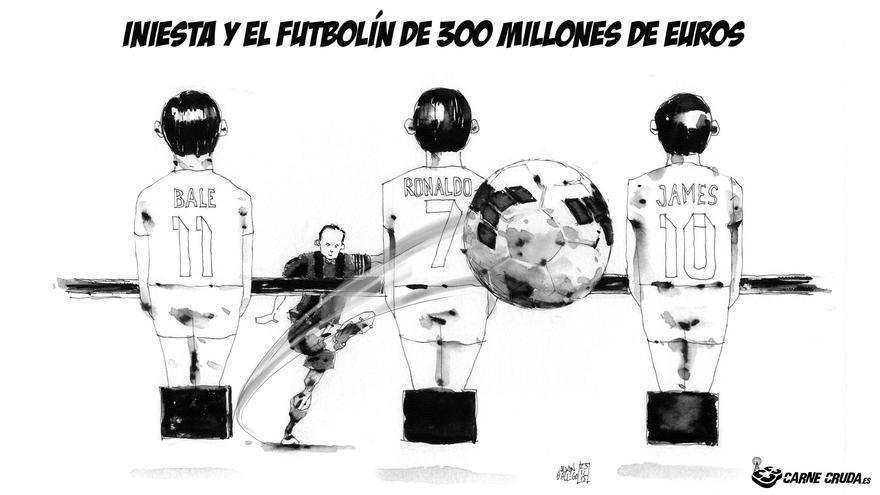 El futbolín más caro del mundo