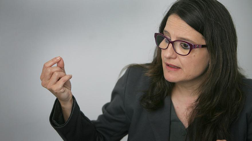 La vicepresidenta del Consell y líder de Compromís, Mónica Oltra