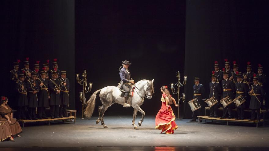"""La opera flamenca """"Carmen"""" de Salvador Távora se pondrá en escena el 27 de diciembre en el Palacio Euskalduna de Bilbao"""