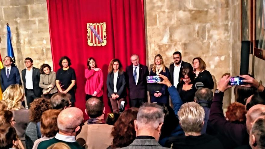 """Bel Busquets promete como nueva vicepresidenta de Baleares por """"imperativo legal"""""""