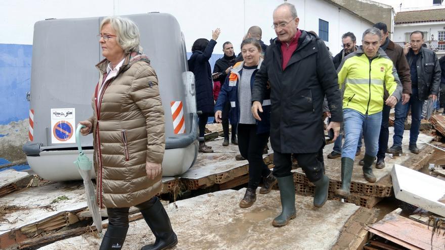 El Ayuntamiento de Málaga abre una oficina de atención a los afectados por las lluvias en Campanillas