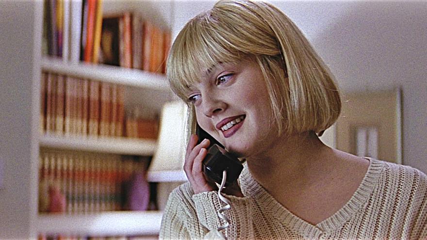 Drew Barrimore en 'Scream', 1996