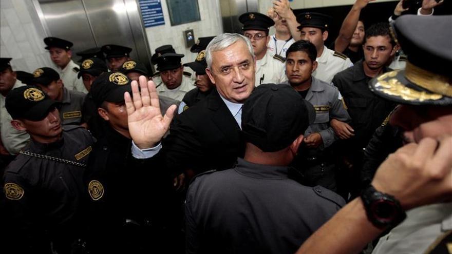 Pérez Molina recurrirá a la CIDH ante un proceso que considera amañado por EE.UU.