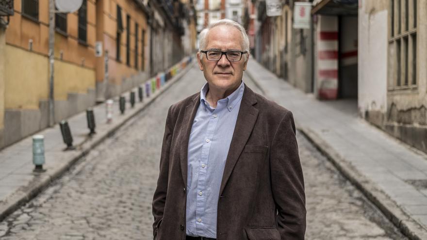Agustín Moreno, exprofesor de Secundaria, miembro de la Marea verde y exsindicalista.