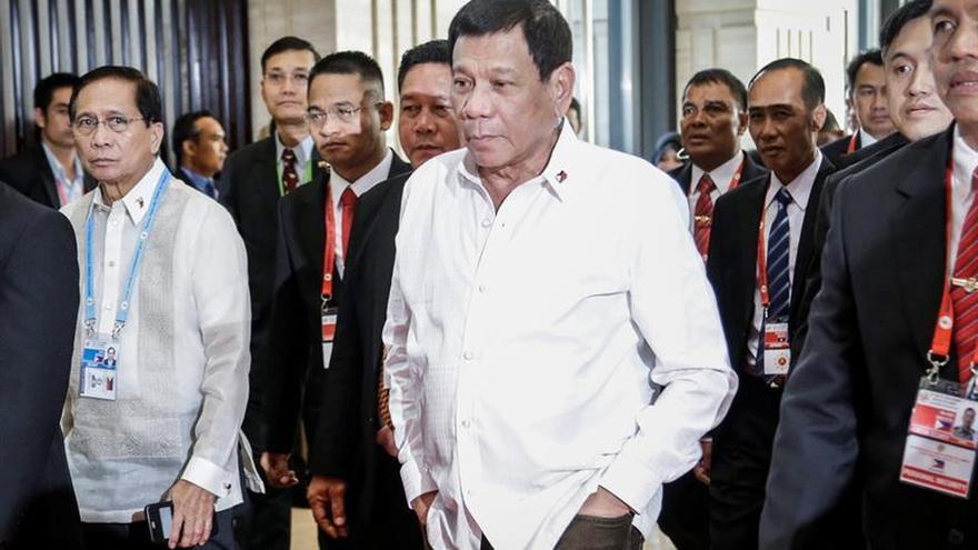 """Duterte responde a las críticas de la Unión Europea: """"Que os jodan"""""""