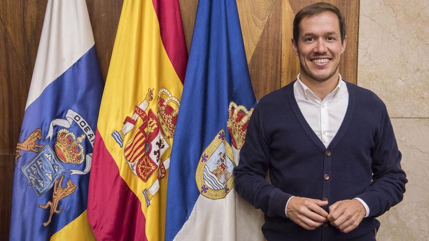 Mariano Hernández es senador electo por La Palma.