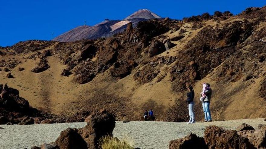 Imagen del parque nacional del Teide, en Tenerife