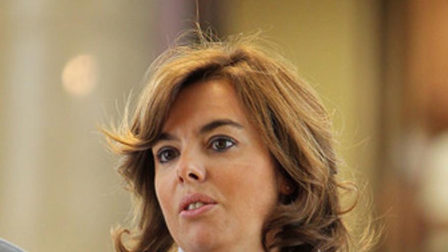 Soraya Sáenz de Santamaría, portavoz PP en el Congreso