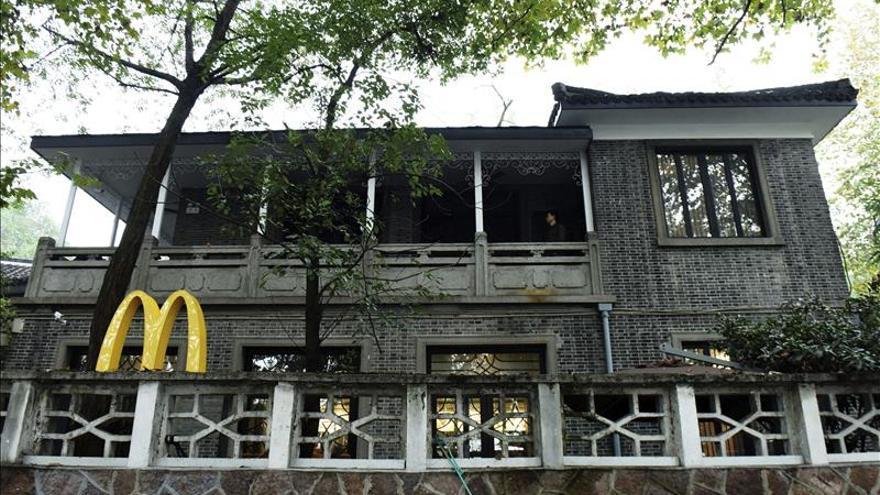 Polémica por un McDonald's en la casa histórica de un hijo de Chiang Kai-shek