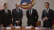 Los gobiernos de Galicia, Murcia y Castilla y León también subvencionan a la fundación del PP que preside Adolfo Súarez Illana