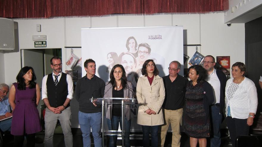 """Ione Belarra, """"orgullosa"""" de """"haberle mirado de tú a tú a la coalición UPN-PP"""""""
