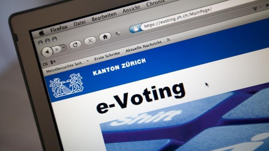 Experiencia de voto digital en Suiza