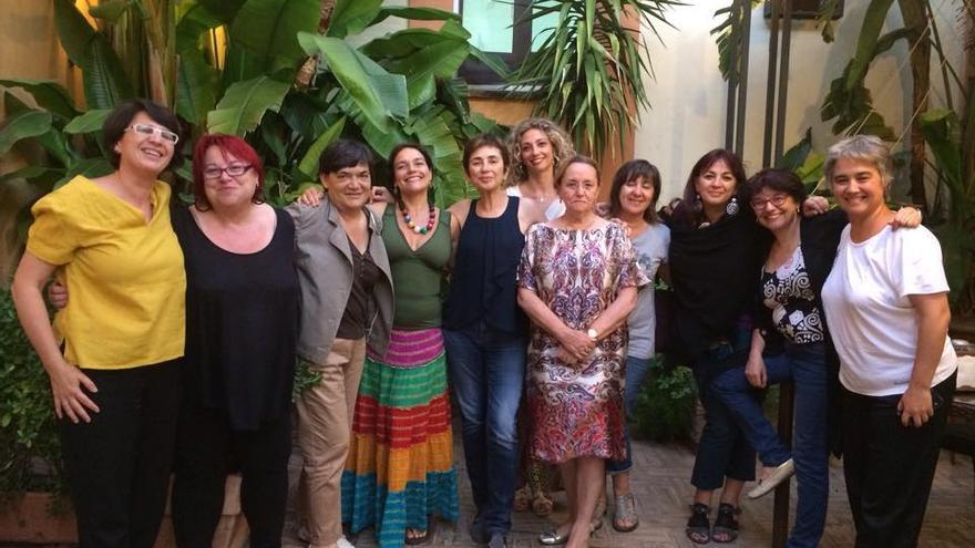 Algunas de las ponentes del curso 'La igualdad de Género frente al Mito de la Libre Elección en un contexto neoliberal' en la Upo