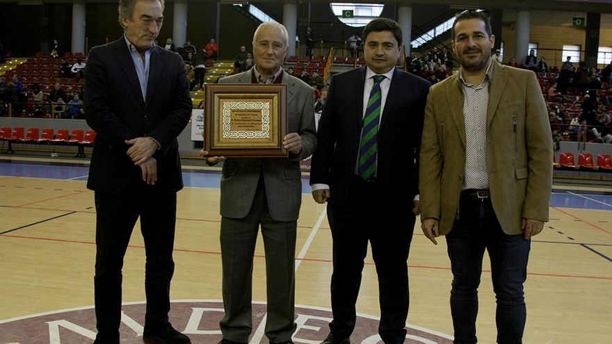 Rafael Márquez, en el homenaje recibido en Vista Alegre.