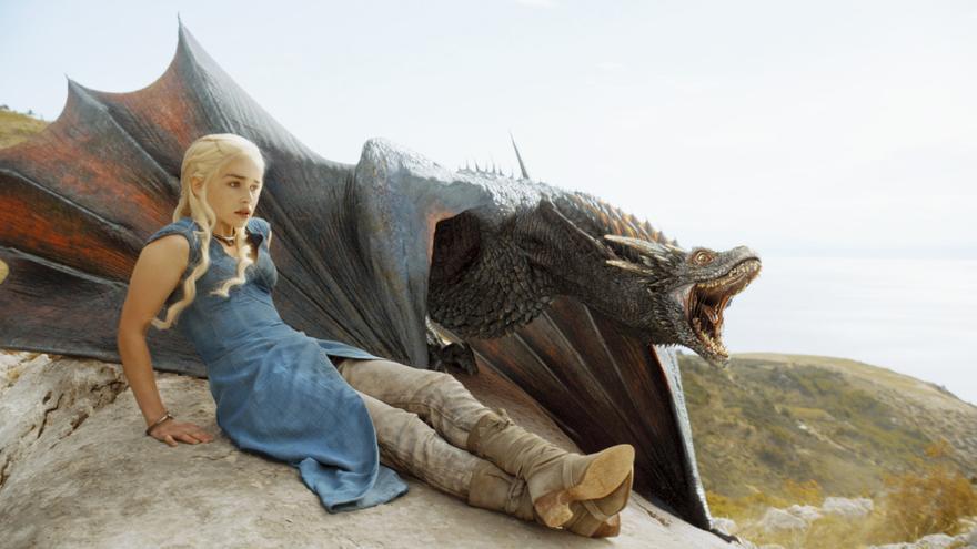 Una imagen de Juego de Tronos de HBO.