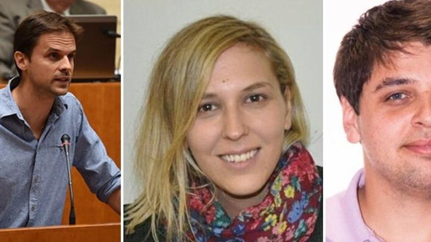 Candidatos de las primarias de Podemos en Extremadura