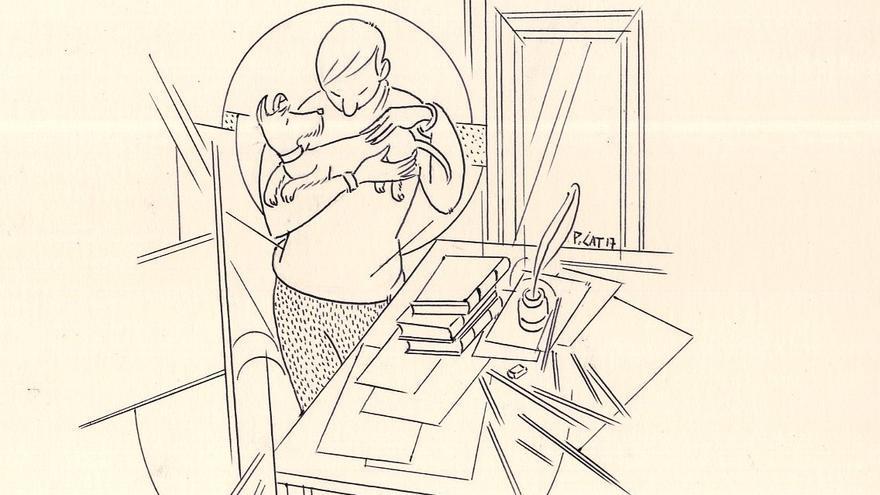 Dibujo para el libro 'El día que dejé de comer animales', de Javier Morales