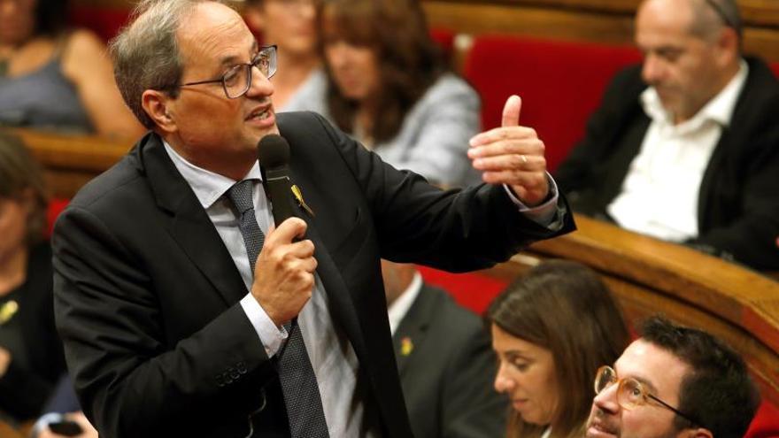 """Torra pide protagonizar un diálogo directo con Sánchez: """"Me tiene que llamar"""""""