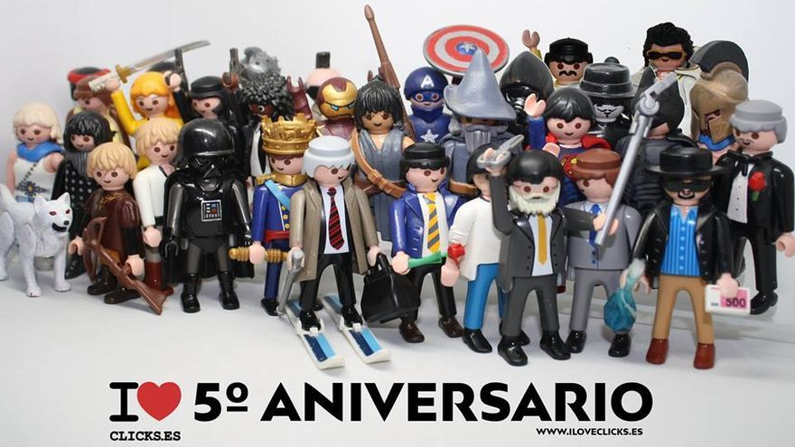 I love 5º aniversario