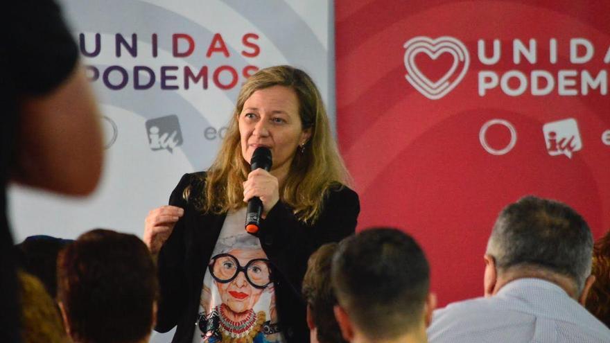 Victoria Rosell (Podemos), candidata al Congreso por Las Palmas.