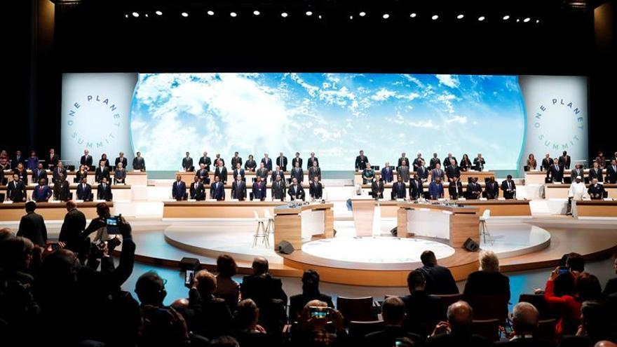 Macron advierte de que estamos perdiendo la lucha contra el cambio climático