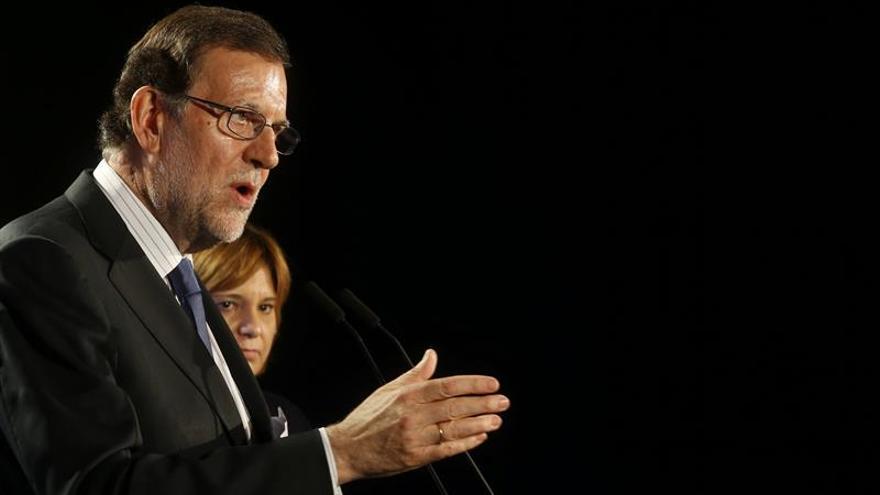 """Rajoy asegura que sólo la """"fórmula"""" del PP garantiza el """"sueño"""" de progreso"""