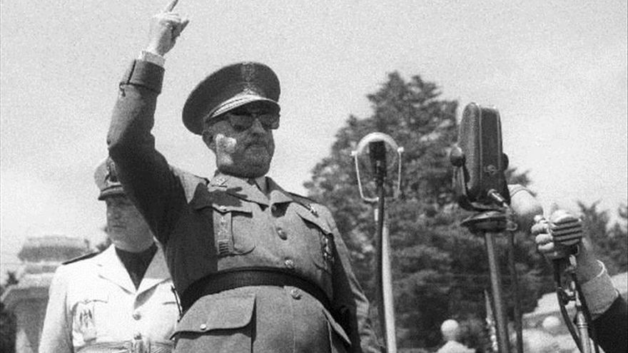 Francisco Franco, mayo de 1952