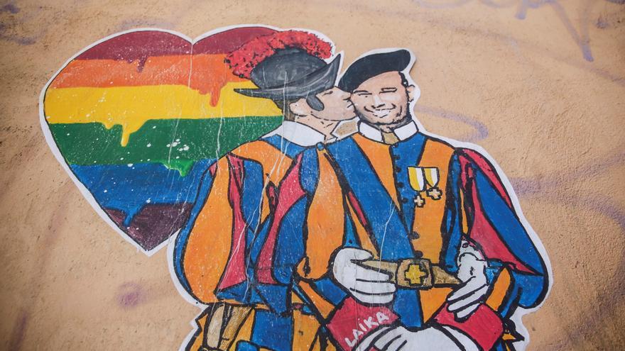 La Italia LGBT sale a la calle para exigir la ley contra la homofobia