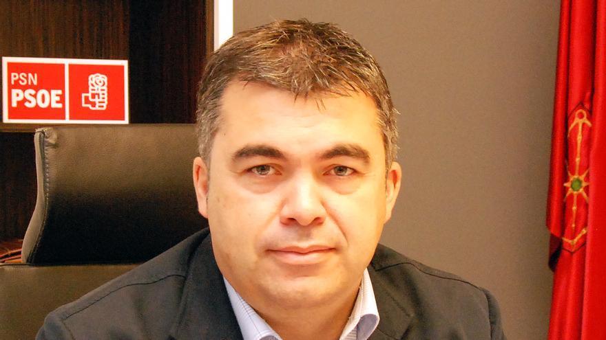 El secretario de Organización del PSN, Santos Cerdán.