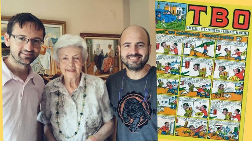 Isabel Bas, ilustradora de TBO