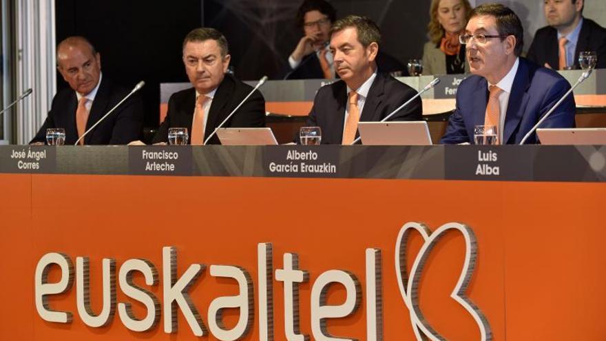 El presidente de Euskaltel apuesta por crecer y reforzar su solidez