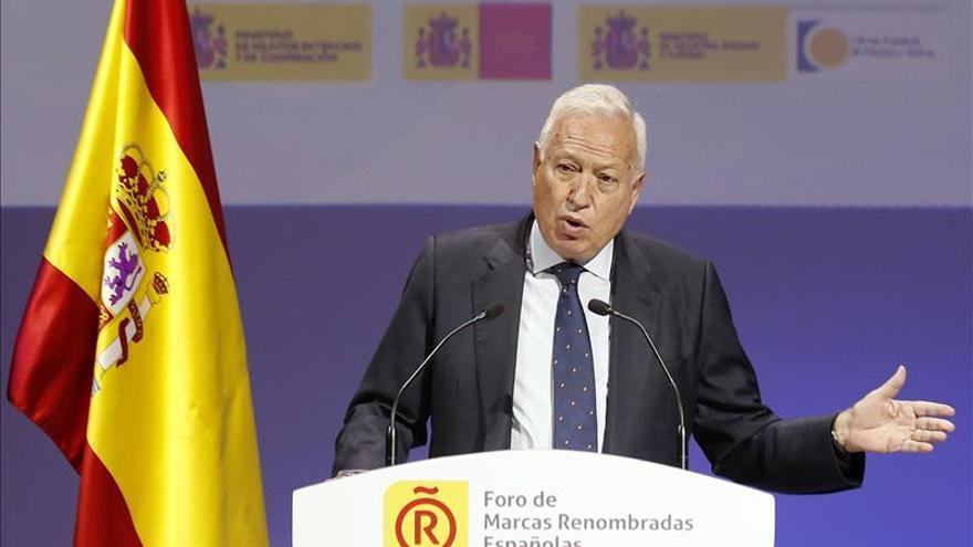 """Margallo destaca la """"enorme maldad"""" que suponen atentados como el de París"""