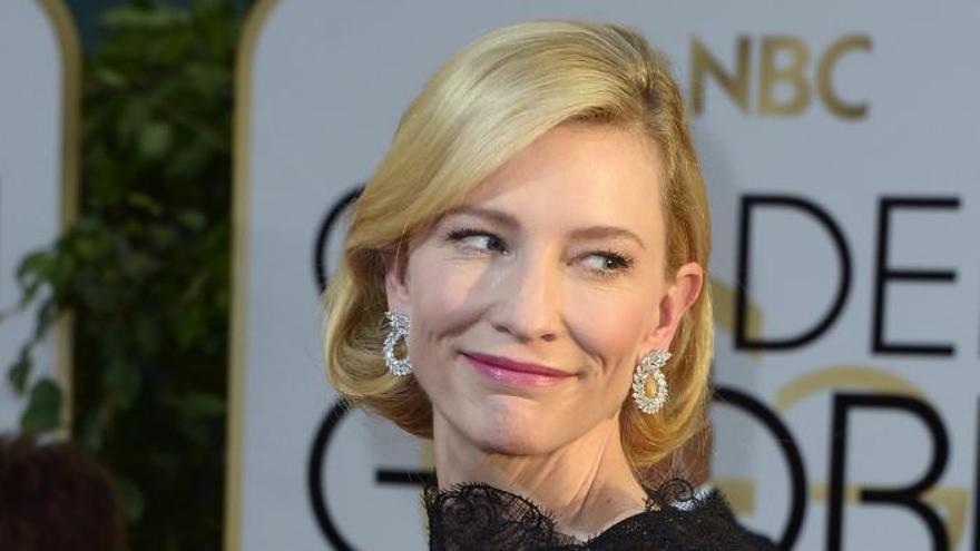 "Cate Blanchett, mejor actriz dramática por ""Blue Jasmine"""