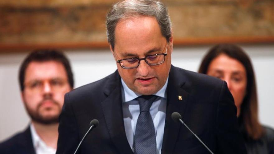 El independentismo celebra el reconocimiento del PE a Junqueras, Puigdemont y Comín