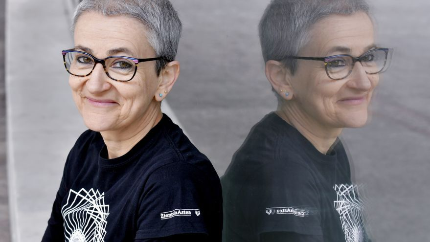 Marta Macho es profesora del grado de Matemáticas en al Universidad del País Vasco.