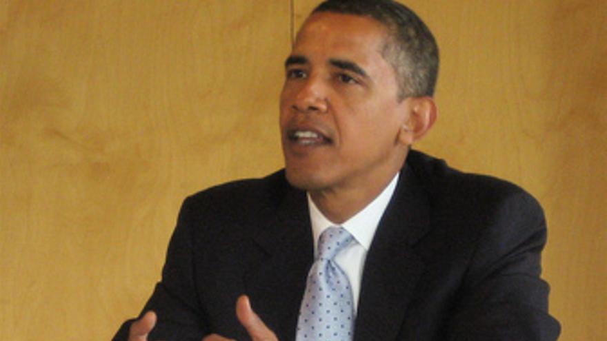 El presidente de EEUU Barack Obama