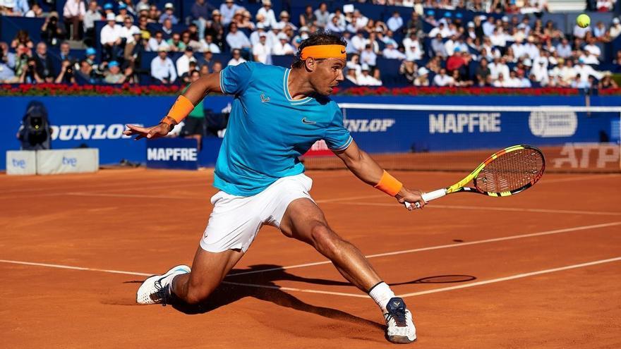 Rafa Nadal en el Barcelona Open Banc Sabadell 2019