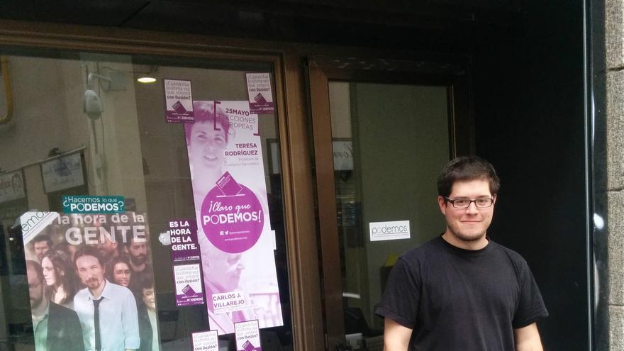 Diego Pacheco, uno de los autores del borrador 'Podemos participar más'