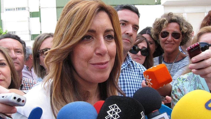 """Susana Díaz recuerda a Podemos que para """"hacer oposición"""" hay que dejar que haya un Gobierno"""""""
