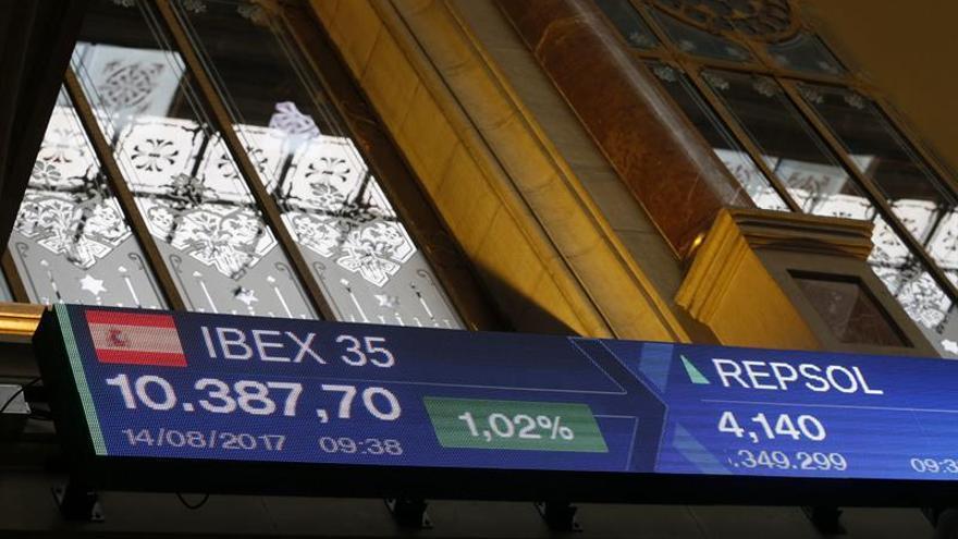 El IBEX 35 busca los 10.500 puntos y avanza un 0,27 por ciento tras la apertura
