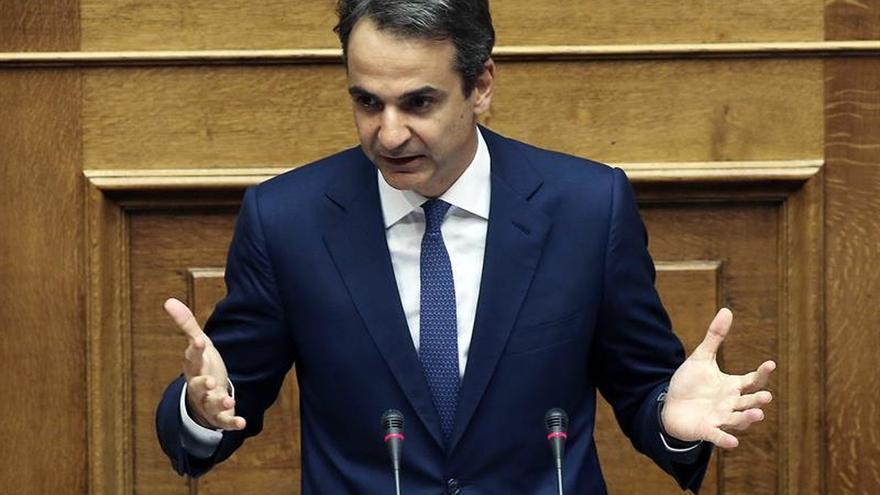 Los conservadores griegos no apoyarán las medidas prometidas por Tsipras a los acreedores