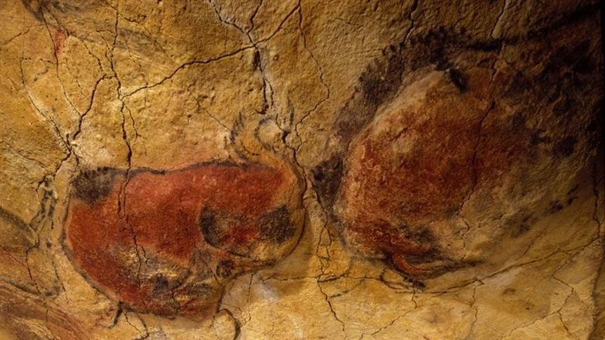 Pintura de las cuevas de Altamira.