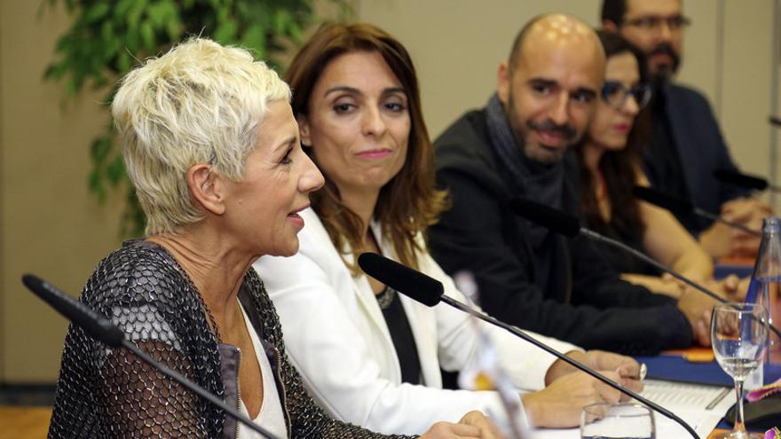 Ana Torroja durante la rueda de prensa en la que el Ayuntamiento informó de los pormenores de la Gala