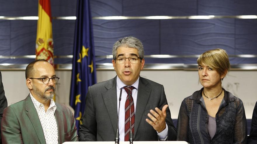 El PP, el PSOE y Ciudadanos respaldarán mañana el suplicatorio de Homs, que el Congreso prevé votar este mes