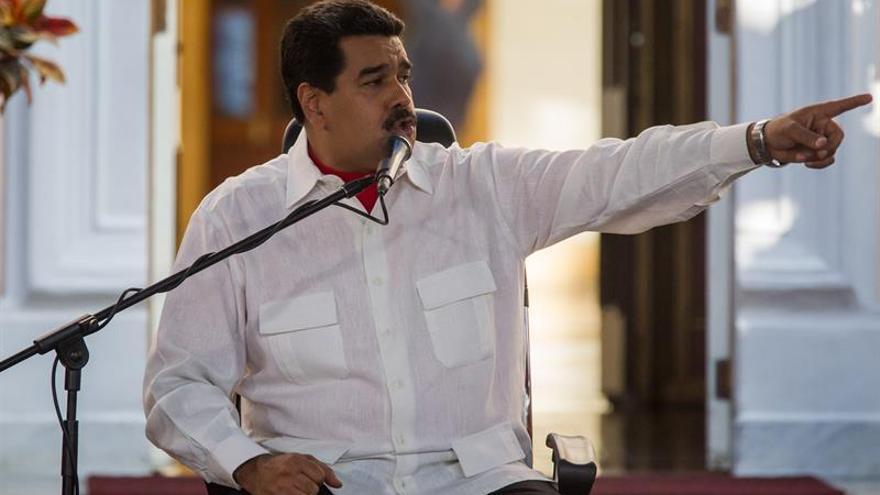 """Maduro tacha de """"estúpidas"""" las sanciones de la UE contra Venezuela"""