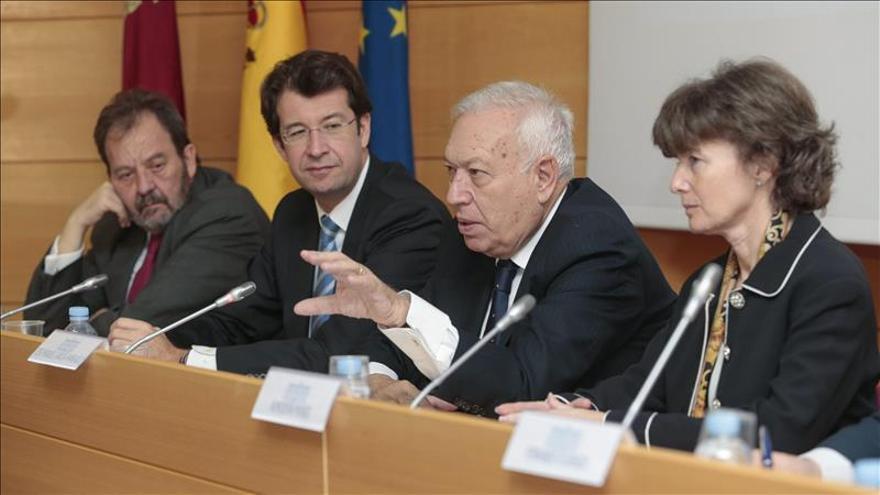 Margallo dice que la prima de riesgo es la prueba del 9 de la mejora de la Marca España