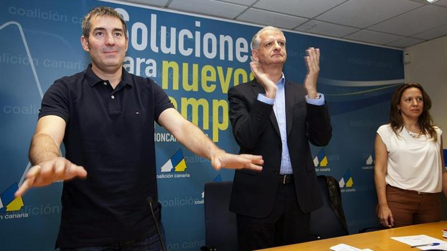El candidato a la presidencia del Gobierno de Canarias de Coalición Canaria, Fernando Clavijo. EFE/Ramón de la Rocha