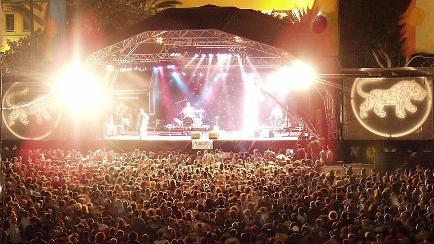 Womad Festival in Las Palmas de Gran Canaria.