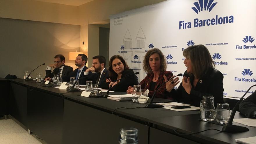 Presentación de los resultados de 2019 de la Fira de Barcelona.