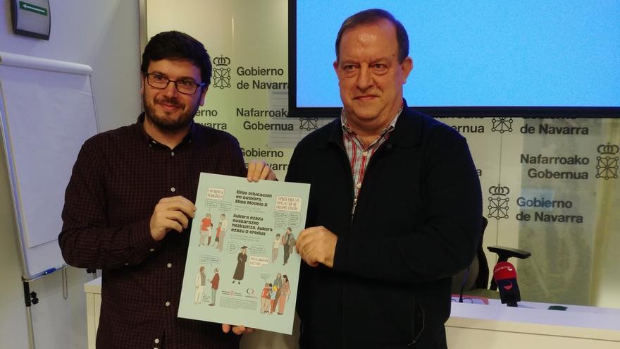 Euskarabidea y 24 entidades locales presentan una campaña conjunta para promocionar la escolarización en euskera